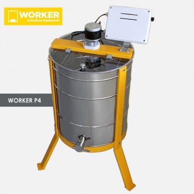 Μελιτοεξαγωγέας 4ων πλαισίων Ηλεκτρικός WORKER