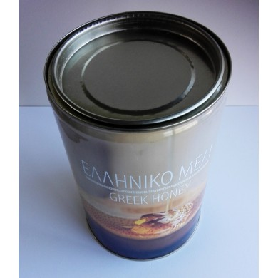 Μεταλλικό δοχείο μελιού 3 kgr